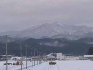 雪の駒ケ岳
