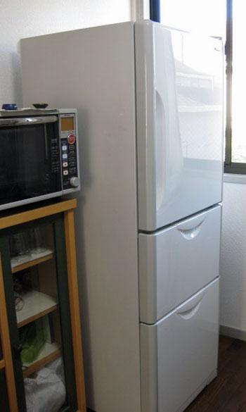 おニューの冷蔵庫1220