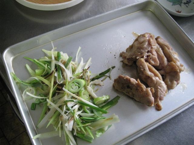 鶏南蛮和風ぺペロンチーノ20091017-02