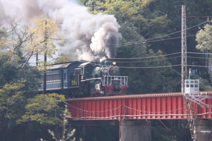大井川鉄道笹間渡鉄橋20091115-01