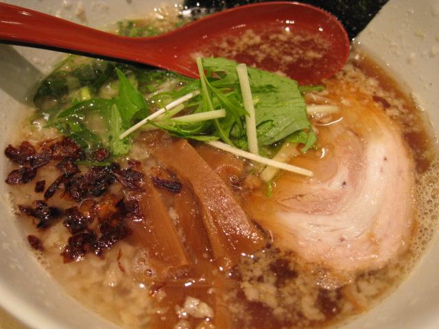 麺屋燕_こっさりそば_20091204_004