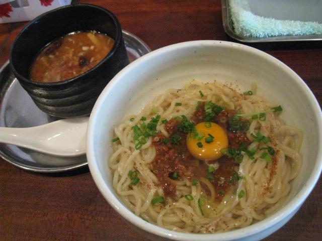 釜玉味噌つけ麺20100113-01