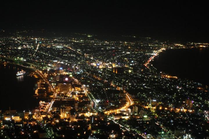 函館山夜景20100814-01
