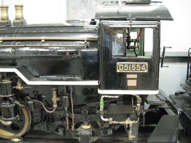 秋田駅SL模型20100813-02