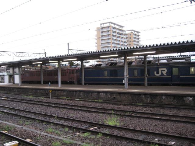 秋田駅ブルトレ20100814-01