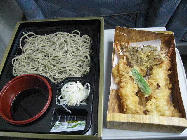 天せいろう蕎麦弁当20101216-02