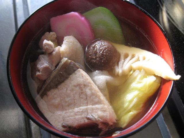 雑煮20110101
