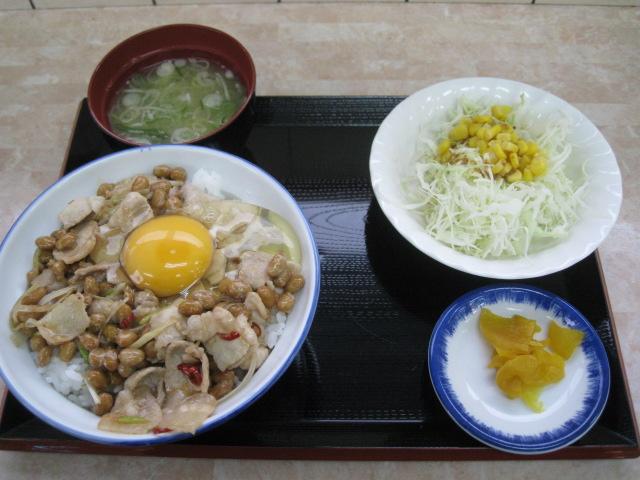 鶴巣スタミナ丼20110622-01