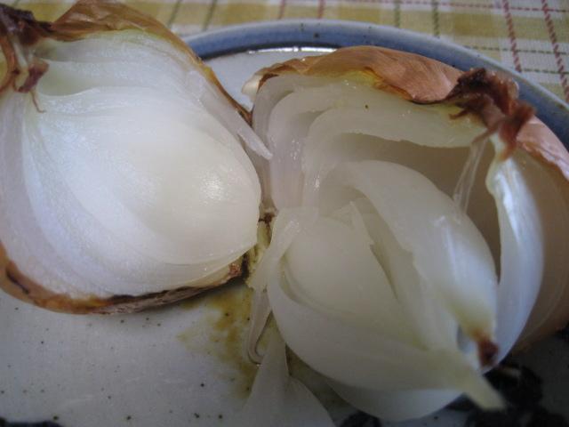 玉ねぎの丸焼き20110731-04
