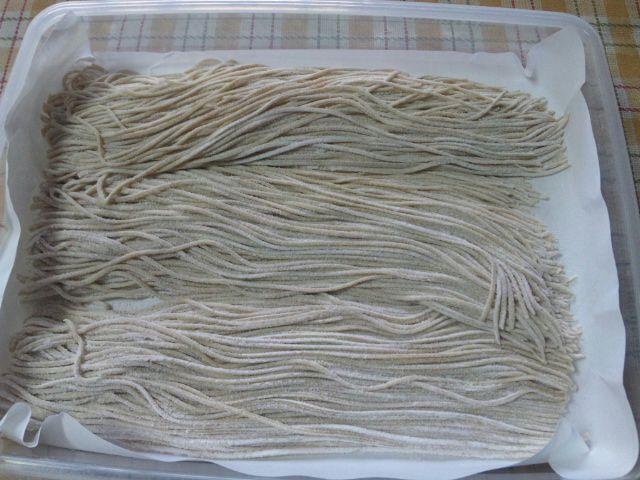 蕎麦打ち20110529-01