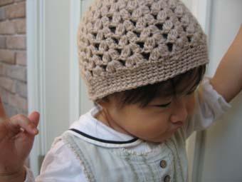 ニット帽 1
