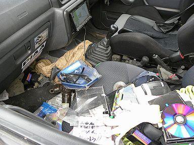 車内パニック