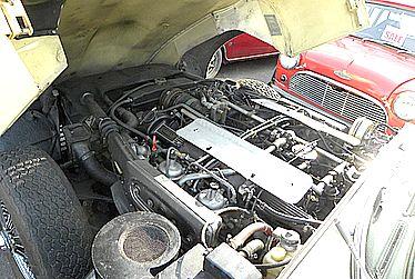ジャガー エンジン