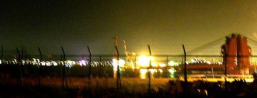夜の海岸通