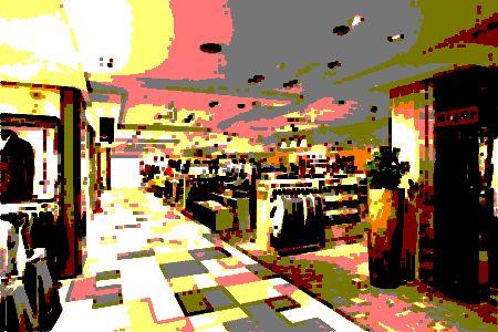 百貨店内1
