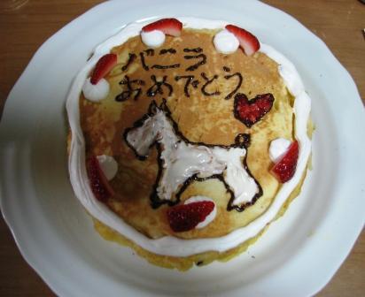 画像 671バニラケーキ作り