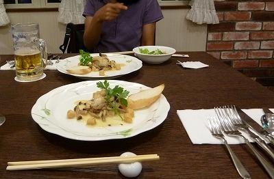 お夕食&生~