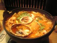海鮮ピリ辛鍋