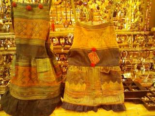 モン族エプロン風スカート