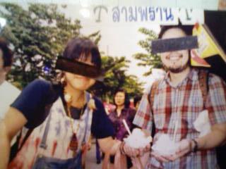 水谷さんゆっけさん タイ写真①