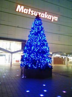広場 クリスマスツリー