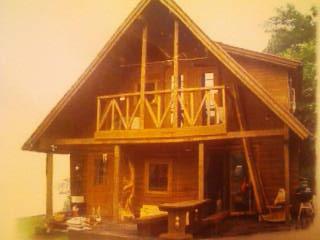 ログハウスvan garage