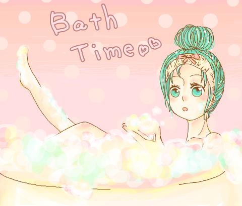 あわあわな風呂(