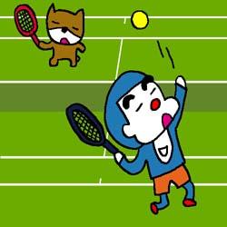 テニス-イラスト
