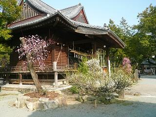 三笠神社境内