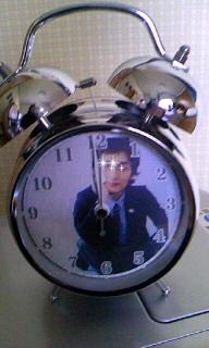 みっちょんからめざまし時計