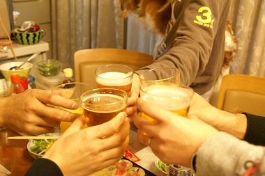 20100131 乾杯♪