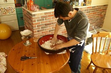 20100314 蕎麦作り