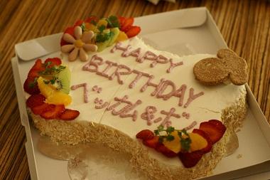 20100327 ケーキ