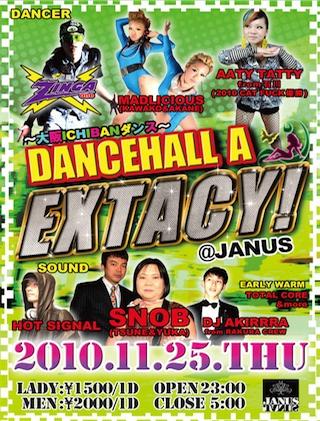 201011DANCEHALL A EXTACY!