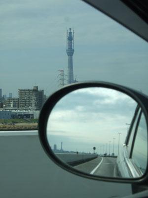 C2から望む東京スカイツリー