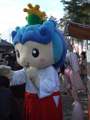 玉前神社の着ぐるみ