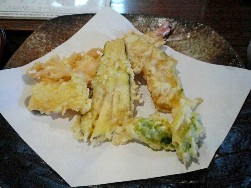 手打蕎麦 清かわ (天ぷら)