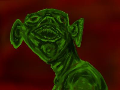 緑色なだれかさん