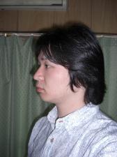 散髪ビフォー