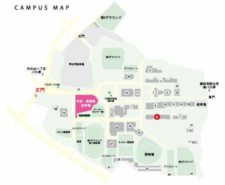 愛知学院マップ