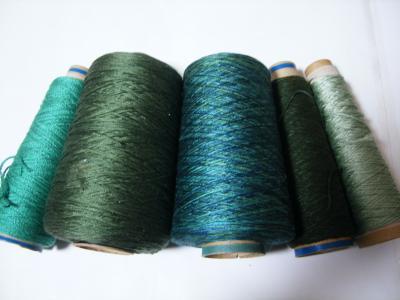グリーン系シルク各種