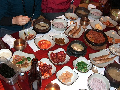 本場の韓国料理