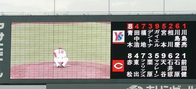 09.7.17 今日のスタメン