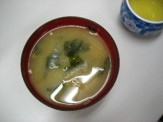 桜島大根のお味噌汁 2009.1.13