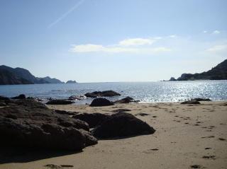 丸木浜にて 2008.11.22
