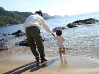 海って気持ちいいなー 2008.11.22