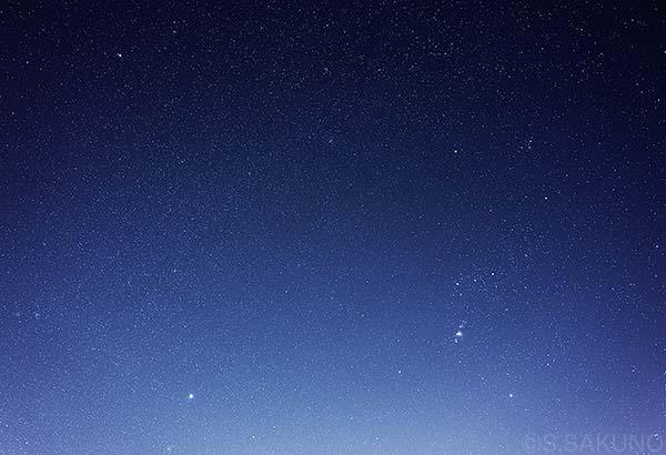 ___冬の星座