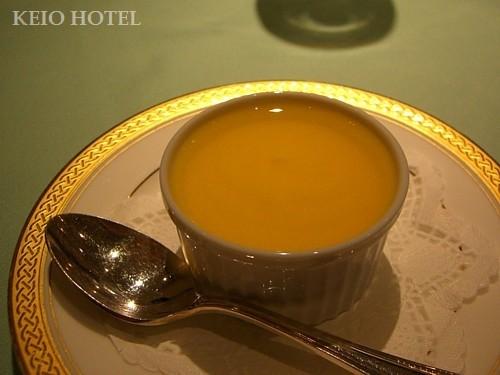オレンジソースのチョコレートムース