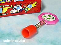 えんぴつアクセサリ六角形ピンク