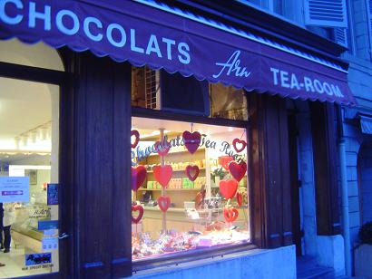 chocolaterie vieille ville